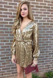 Sequin dress for new year eve party and night out 82