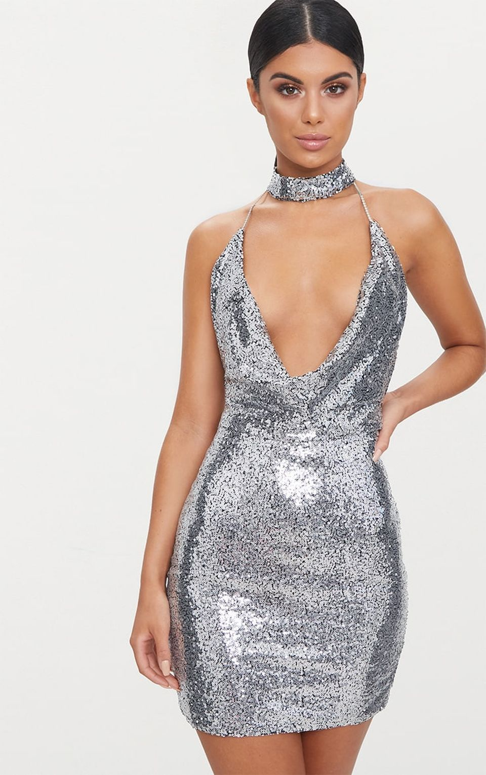Sequin dress for new year eve party and night out 84