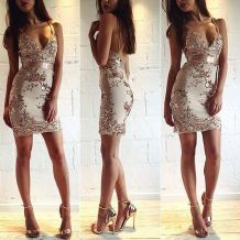 Sequin dress for new year eve party and night out 95