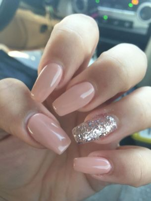 130 fresh ideas to make glitter acrylic nails for this winter sweet acrylic nails ideas for winter 1 prinsesfo Images