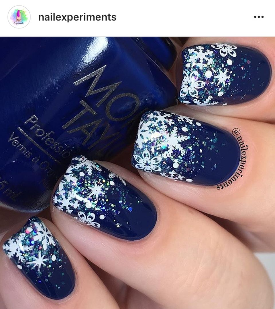 Sweet acrylic nails ideas for winter 102