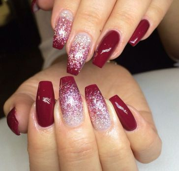 Sweet acrylic nails ideas for winter 113