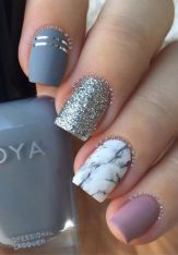 Sweet acrylic nails ideas for winter 116