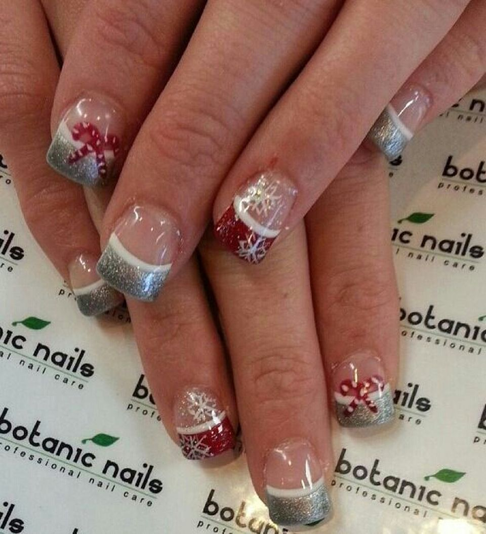 Sweet acrylic nails ideas for winter 121