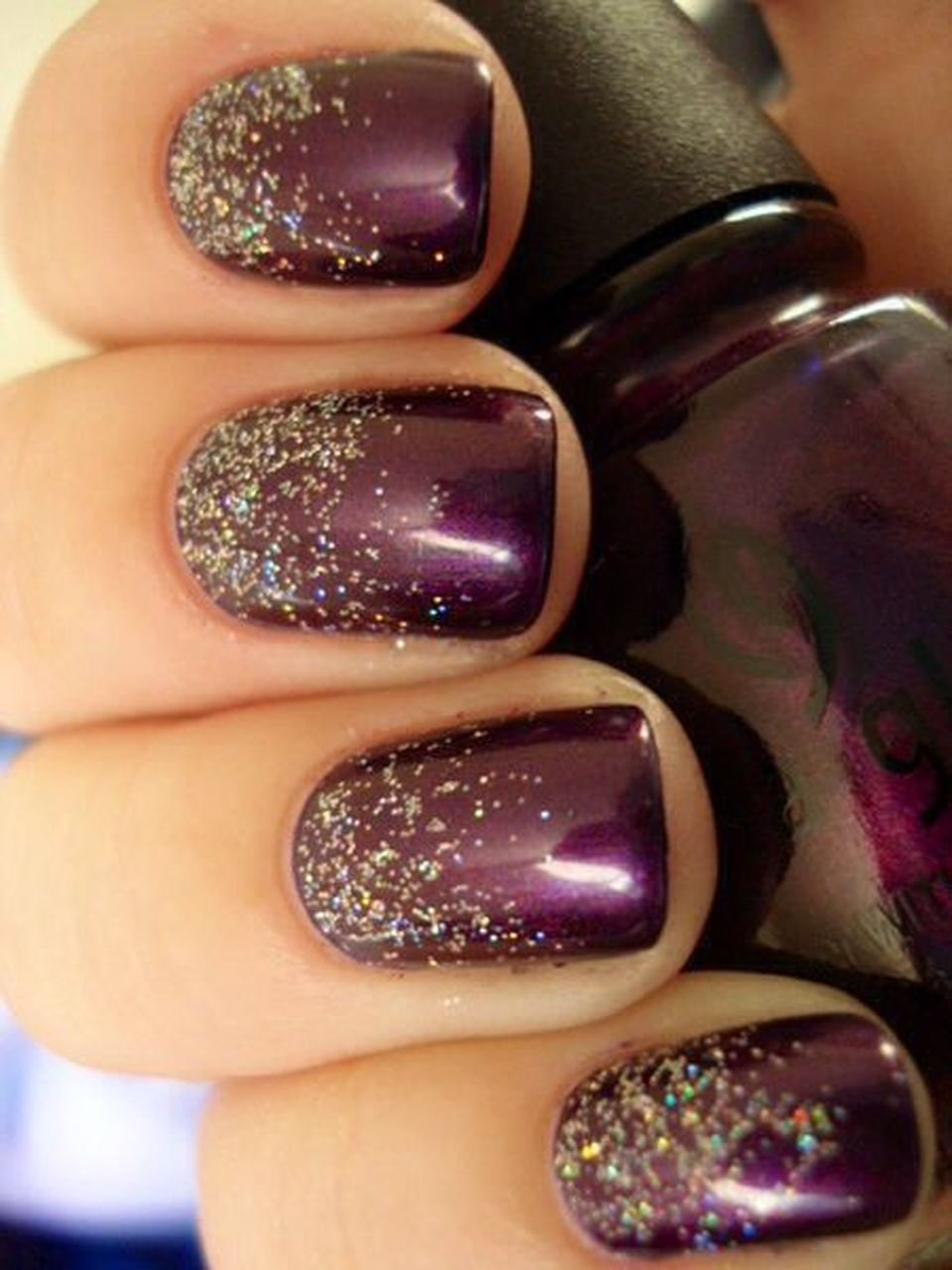 Sweet acrylic nails ideas for winter 16
