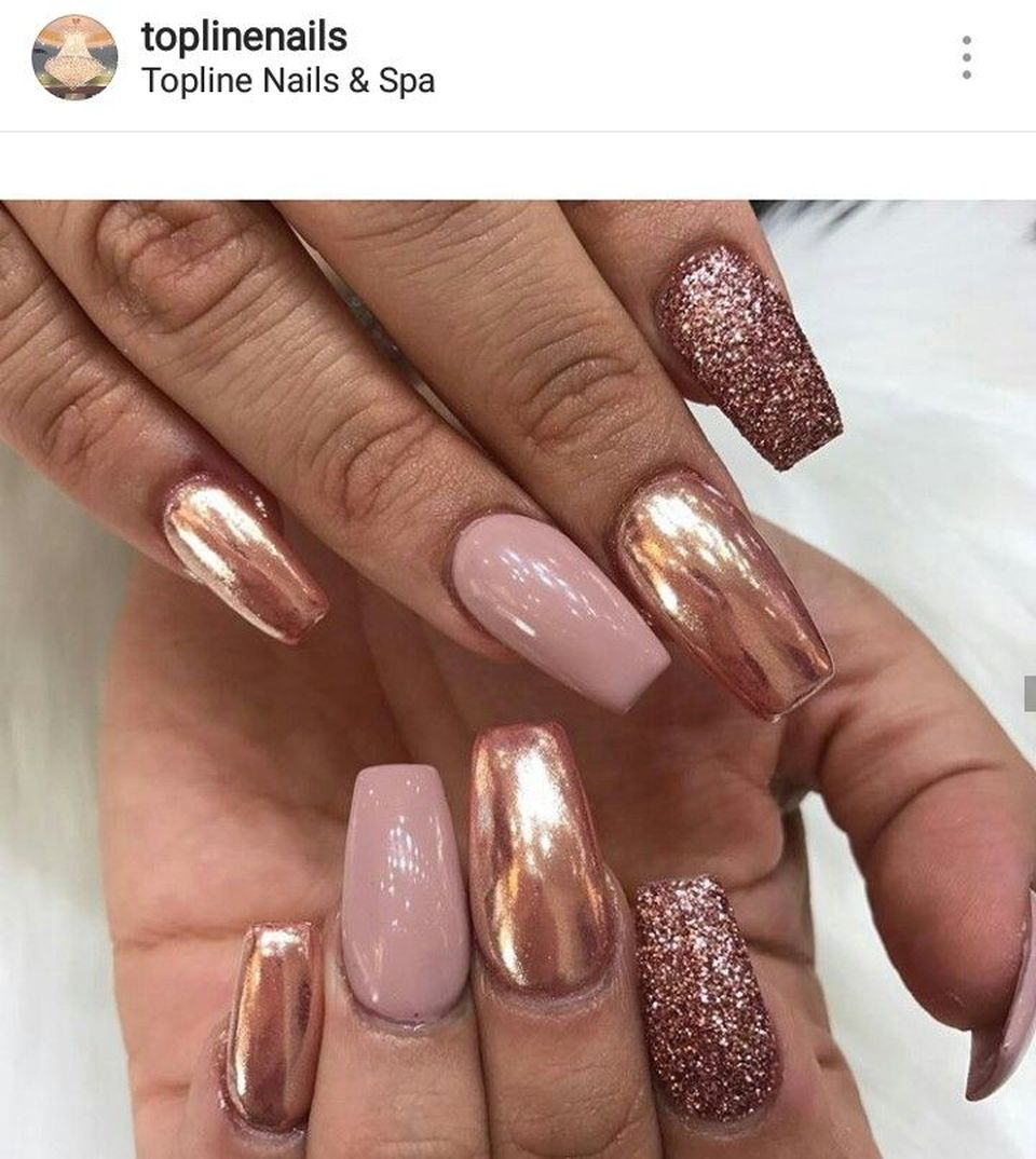 Sweet acrylic nails ideas for winter 31