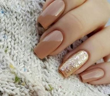 Sweet acrylic nails ideas for winter 43