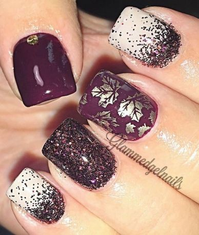 Sweet acrylic nails ideas for winter 44