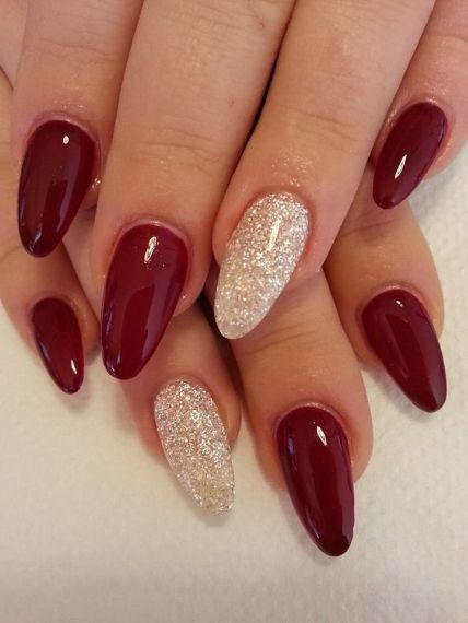 Sweet acrylic nails ideas for winter 51