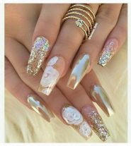 Sweet acrylic nails ideas for winter 52