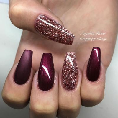 Sweet acrylic nails ideas for winter 72