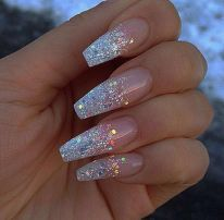 130 fresh ideas to make glitter acrylic nails for this winter sweet acrylic nails ideas for winter 86 prinsesfo Images