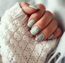 Sweet acrylic nails ideas for winter 91