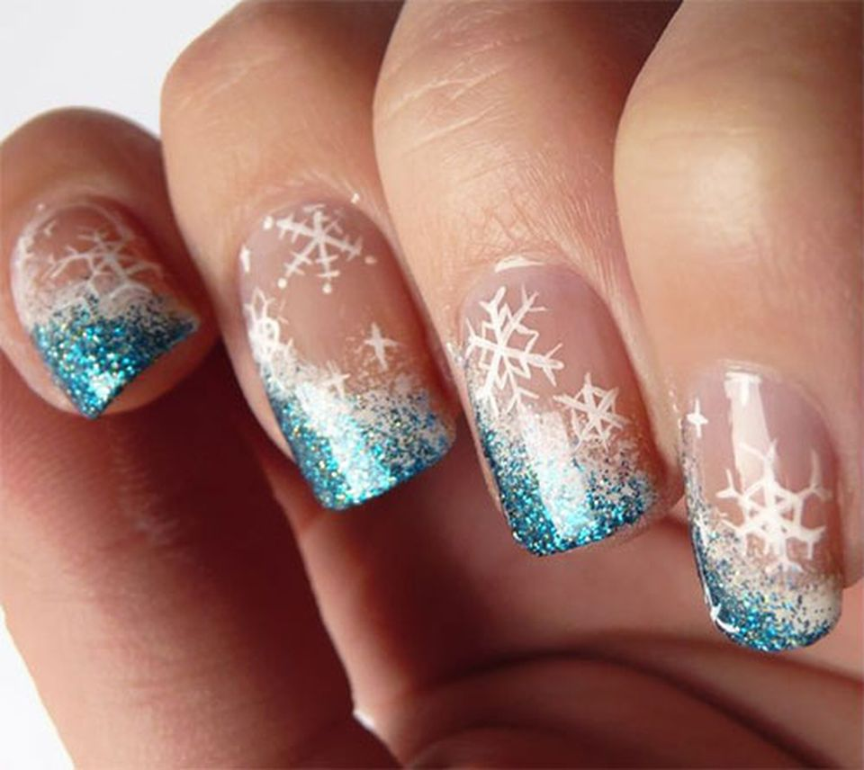Sweet acrylic nails ideas for winter 99