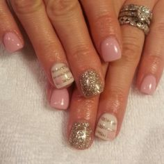 Lovely valentine nails design ideas 82