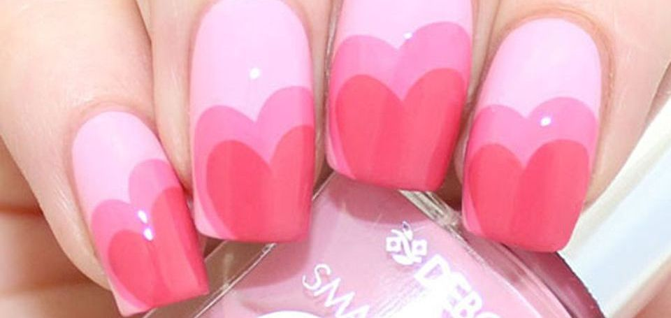 Lovely valentine nails design ideas