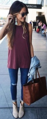 Pretty Casual Spring Fashion Outfits for Teen Girls 36