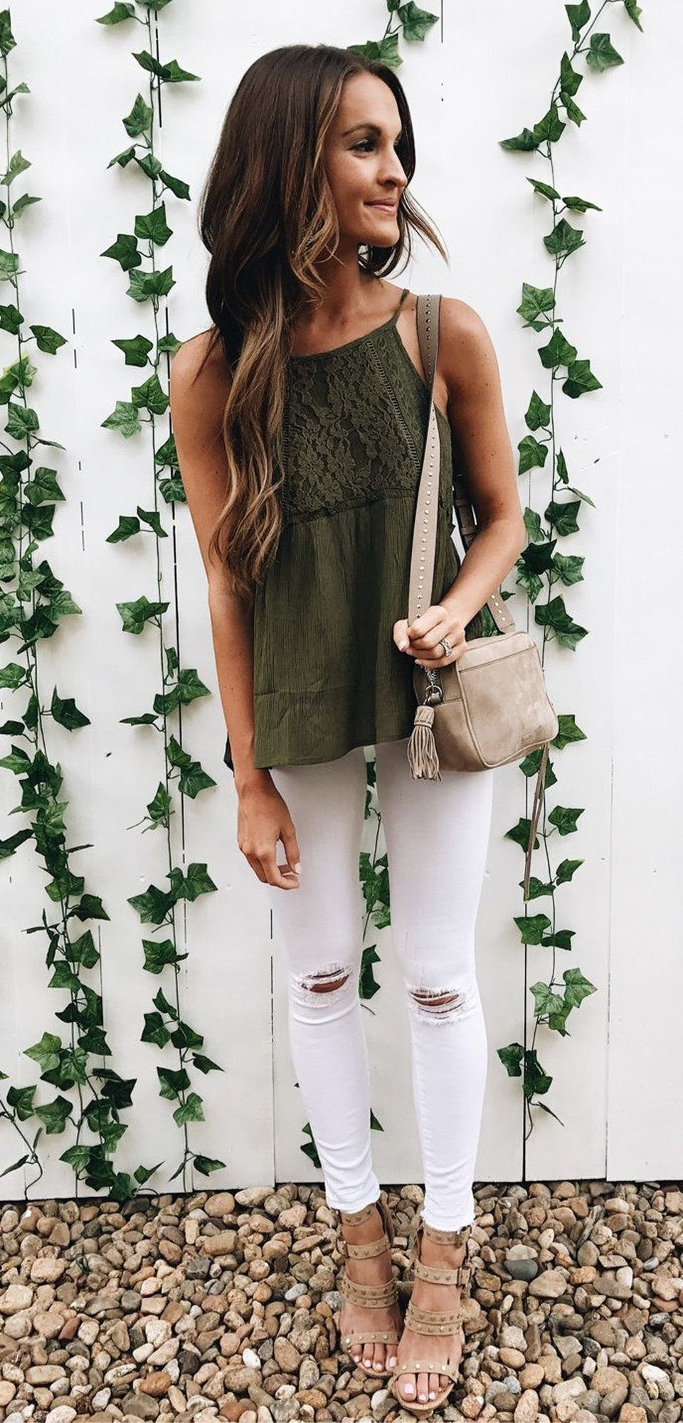 Pretty Casual Spring Fashion Outfits for Teen Girls 47