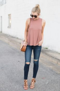 Pretty Casual Spring Fashion Outfits for Teen Girls 63