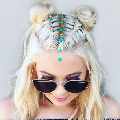 Stunning boho coachella hairstyles ideas 15