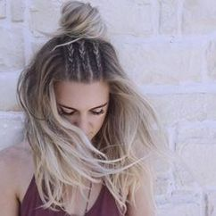 Stunning boho coachella hairstyles ideas 42