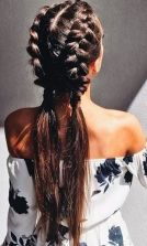 Stunning boho coachella hairstyles ideas 59