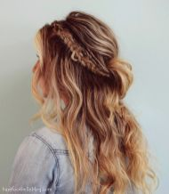 Stunning boho coachella hairstyles ideas 65