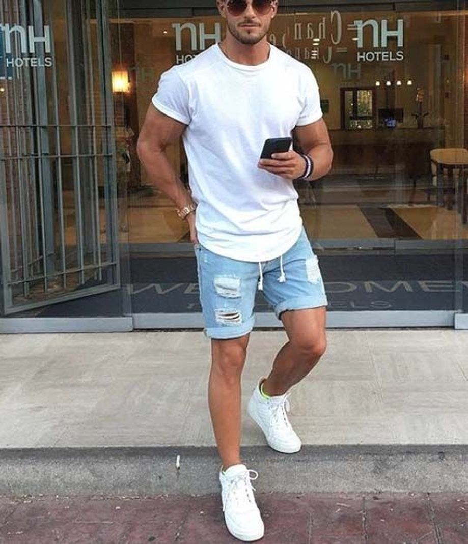 Cool Casual Men's Fashions Summer Outfits Ideas 15
