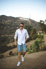 Cool Casual Men's Fashions Summer Outfits Ideas 24