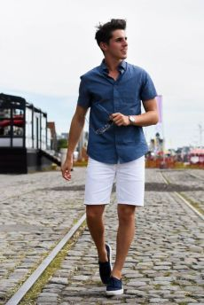 Cool Casual Men's Fashions Summer Outfits Ideas 35