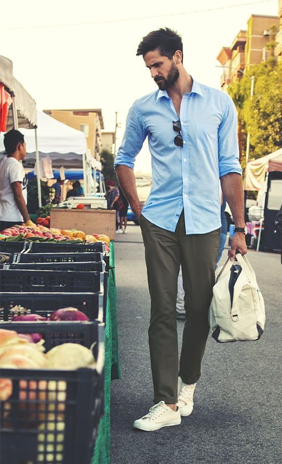 Cool Casual Men's Fashions Summer Outfits Ideas 45