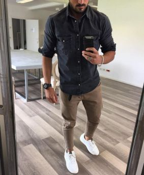 Cool Casual Men's Fashions Summer Outfits Ideas 46