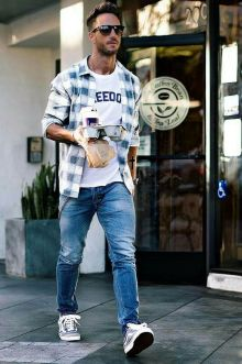 Cool Casual Men's Fashions Summer Outfits Ideas 7