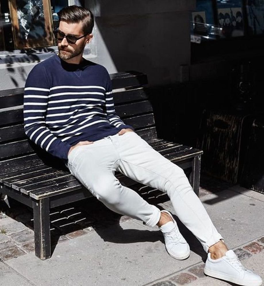 Inspiring Men's Spring Streetstyle Fashion Outfits 19