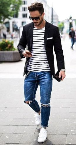 Inspiring Men's Spring Streetstyle Fashion Outfits 20