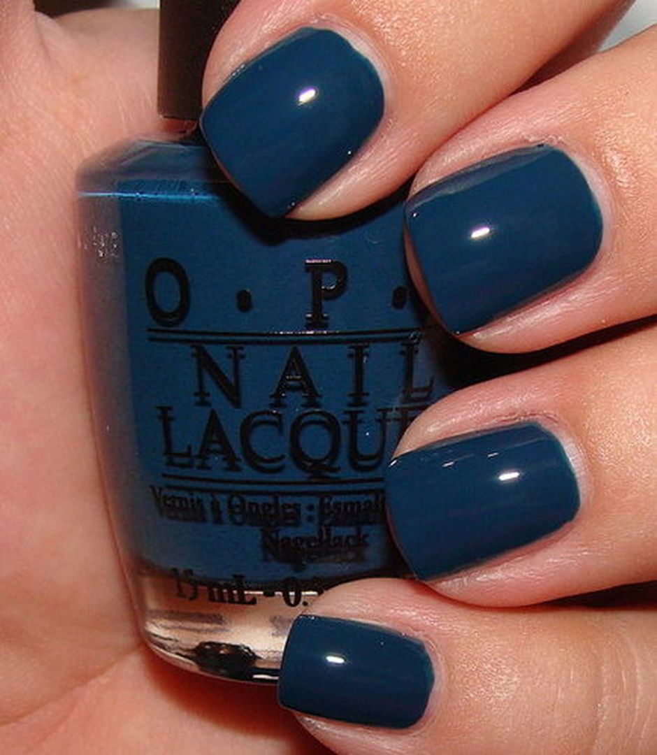 Sweet Blue Nails Ideas that Make Cool and Calm Appearance 10