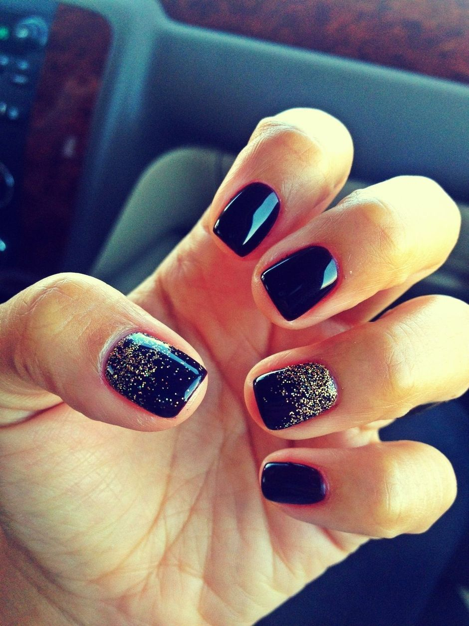 Sweet Blue Nails Ideas that Make Cool and Calm Appearance 27