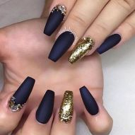 Sweet Blue Nails Ideas that Make Cool and Calm Appearance 29