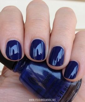 Sweet Blue Nails Ideas that Make Cool and Calm Appearance 30