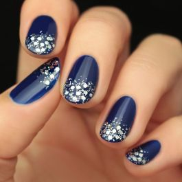 Sweet Blue Nails Ideas that Make Cool and Calm Appearance 31