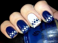 Sweet Blue Nails Ideas that Make Cool and Calm Appearance 4