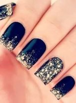 Sweet Blue Nails Ideas that Make Cool and Calm Appearance 42