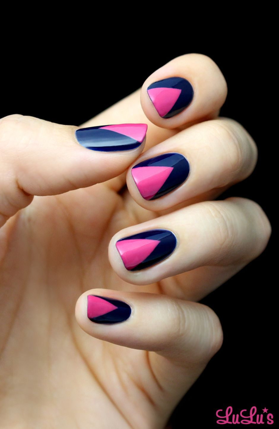 Sweet Blue Nails Ideas that Make Cool and Calm Appearance 64