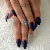 Sweet Blue Nails Ideas that Make Cool and Calm Appearance 66