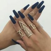 Sweet Blue Nails Ideas that Make Cool and Calm Appearance 68