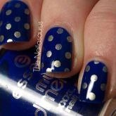 Sweet Blue Nails Ideas that Make Cool and Calm Appearance 72