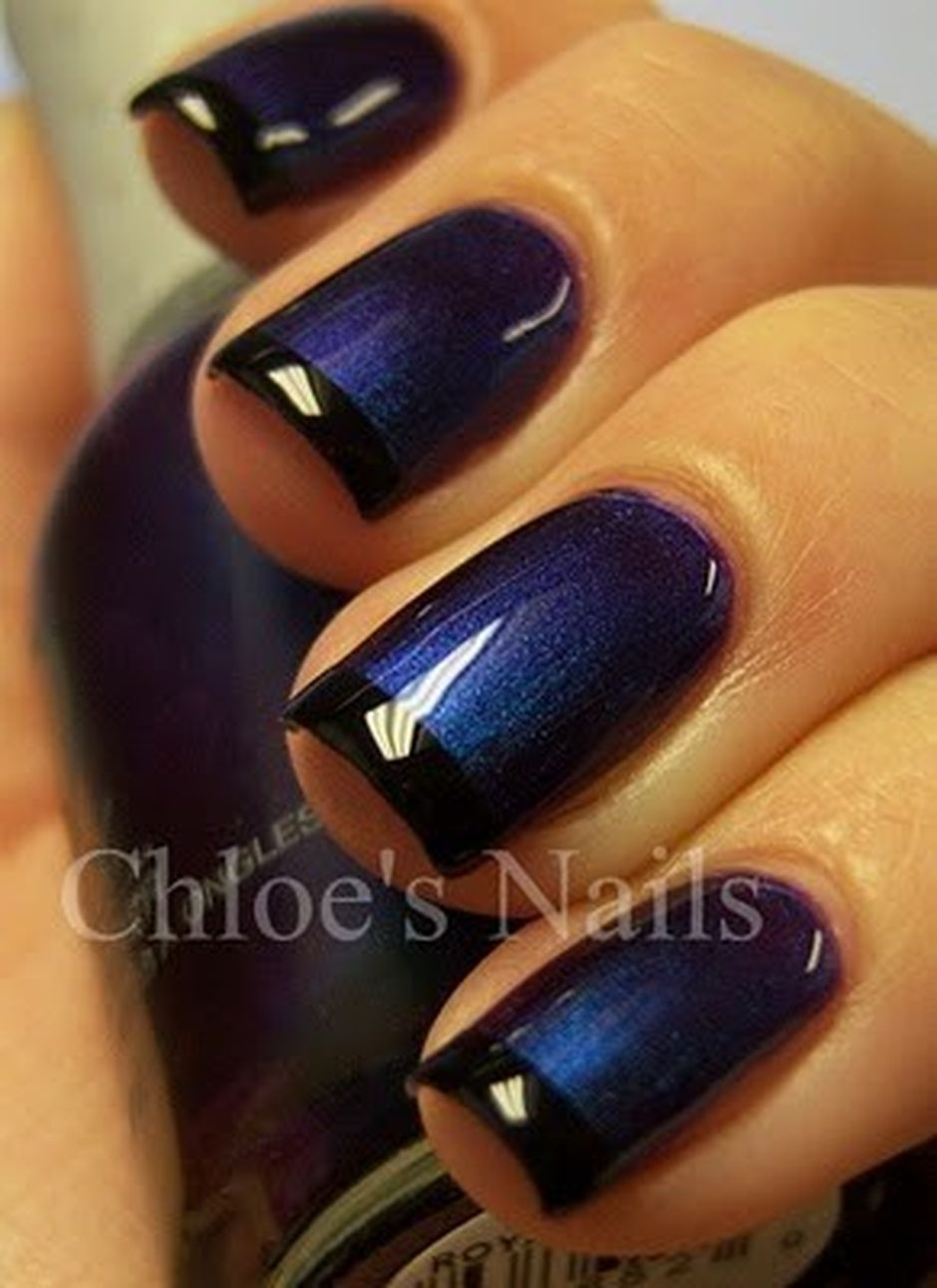 Sweet Blue Nails Ideas that Make Cool and Calm Appearance 78