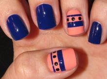 Sweet Blue Nails Ideas that Make Cool and Calm Appearance 81