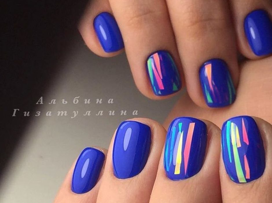 Sweet Blue Nails Ideas that Make Cool and Calm Appearance 95