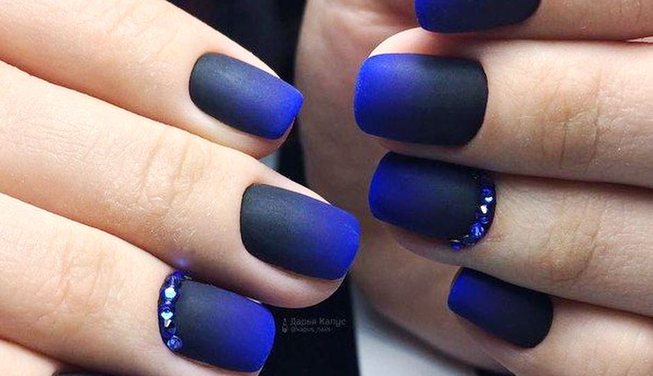 Sweet Calm and Cool Blue Nails Ideas